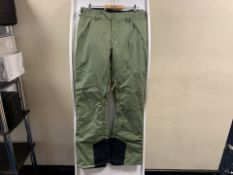 2 X BRAND NEW BILLABONG OLIVE MALLA SKI TROUSERS SIZE SMALL RRP £120 EACH (251/23)
