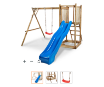 New Franer wooden play Set. This Franer wood swing set is perfect is perfect for providing your