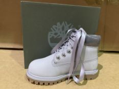 (NO VAT) 2 X BRAND NEW TIMBERLANDS LIGHT GREY NUBUCK BOOT SIZE 10