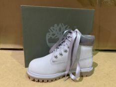 (NO VAT) 3 X BRAND NEW TIMBERLANDS LIGHT GREY NUBUCK BOOT SIZE 10