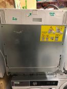 NEW/GRADED AND UNPACKAGED Zanussi, ZDLN1511, Fully Integrated Dishwasher (Mild scuffs to front and
