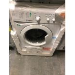 NEW/GRADED AND UNPACKAGED Indesit IWC81252ECO Freestanding Washing Machine (Crack above detergent