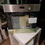 NEW/GRADED UNPACKAGED Zanussi ZOB343X Electric Built-in Single Oven(Smashed outer glass. Missing