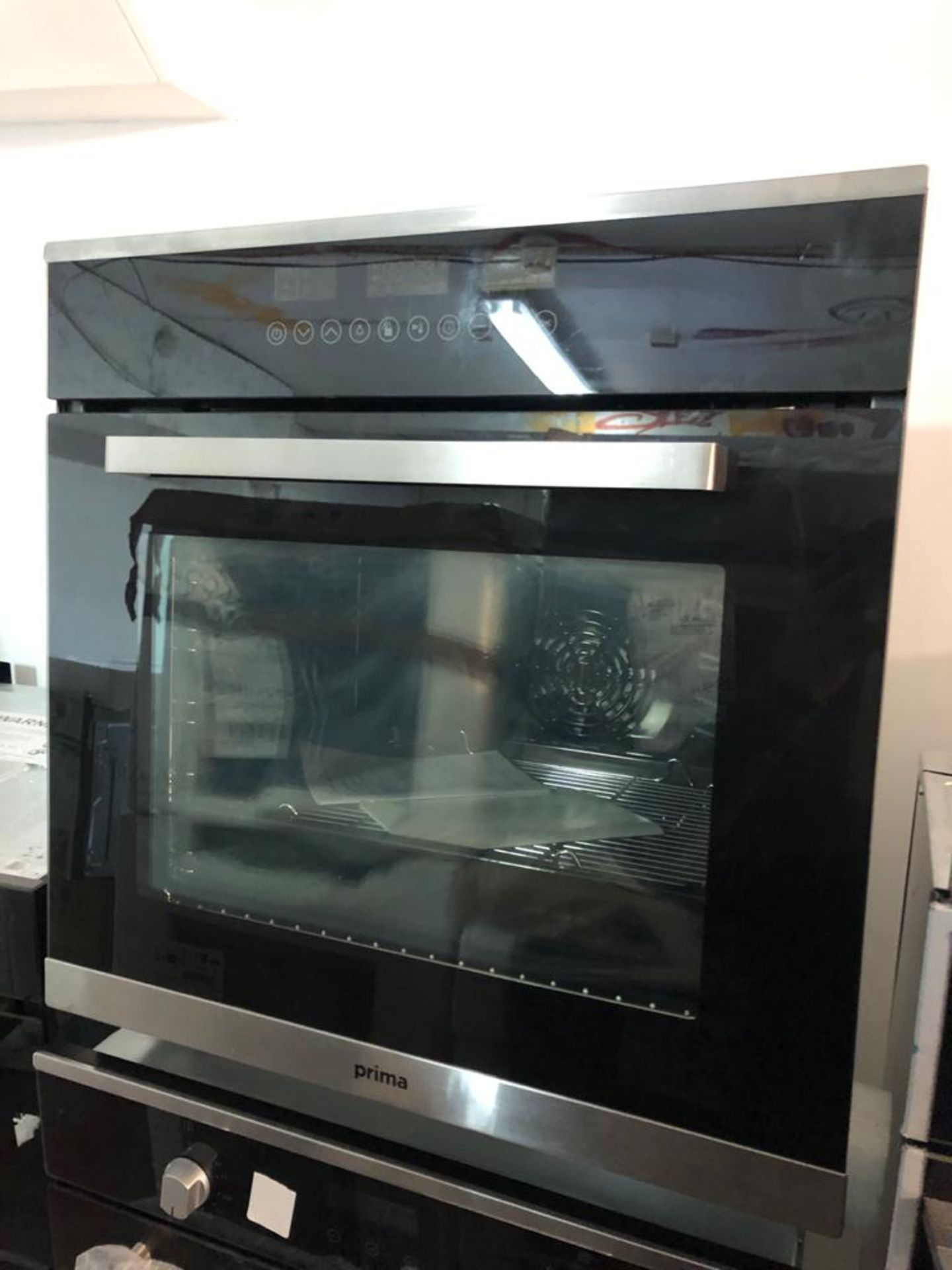 BRAND NEW UNPACKAGED Prima+ PRSO110 Integrated Single Pyrolytic Oven