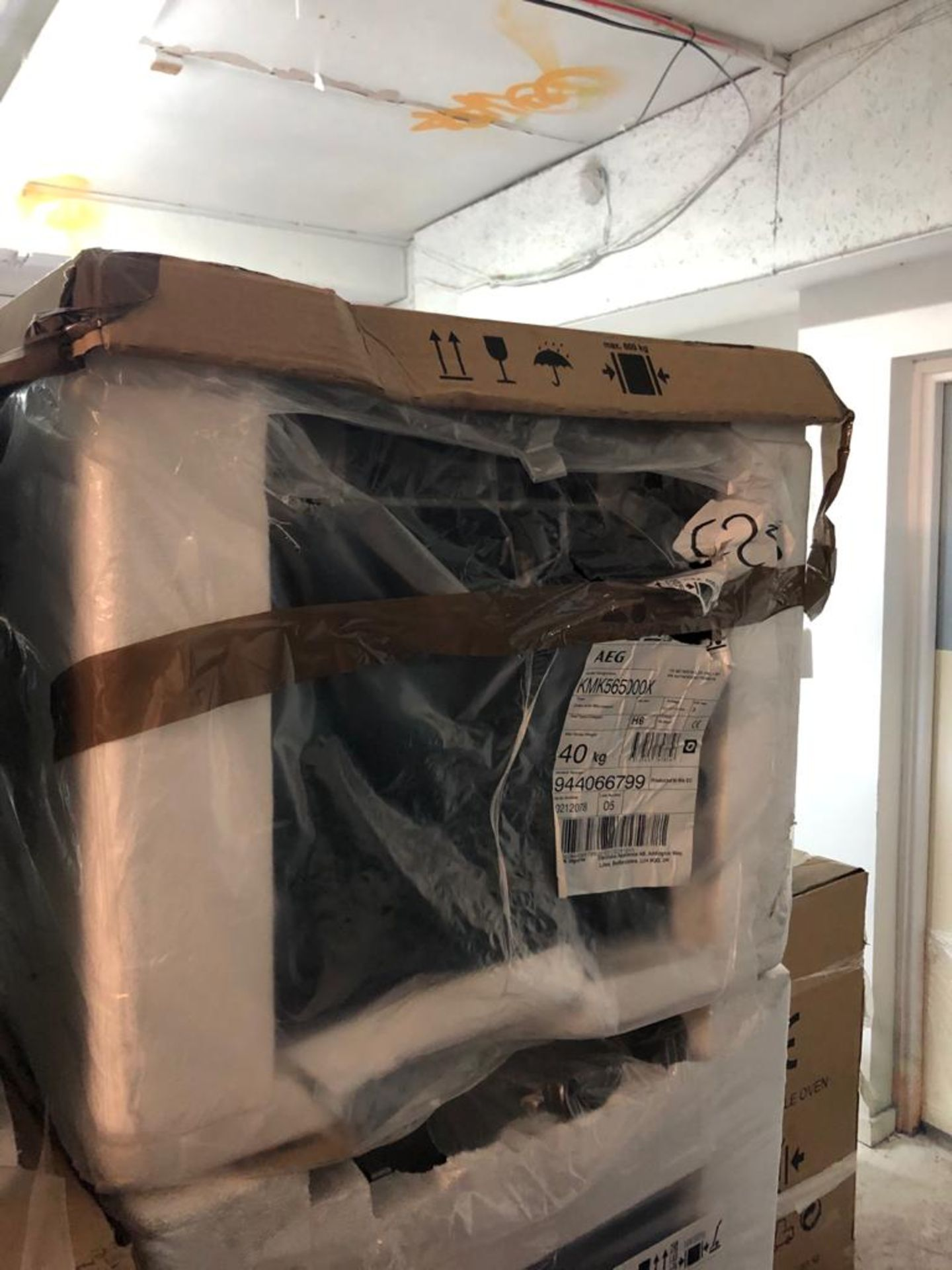 BRAND NEW PACKAGED AEG KMK565000X Combination Microwave Oven
