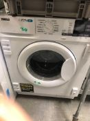NEW/GRADED AND UNPACKAGED Zanussi Z716WT83BI Integrated washer dryer (Scuffs on the frontdoor