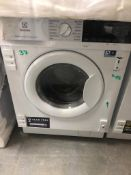 NEW/GRADED AND UNPACKAGED Electrolux E776W402BI 7kg/4kg Integrated Washer Dryer (Dent on the front