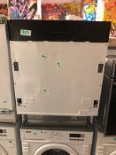 NEW/GRADED AND UNPACKAGED Beko DIN15310 Integrated Dishwasher (Dent on the front door)