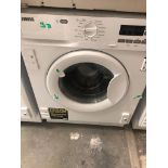 NEW/GRADED AND UNPACKAGED Zanussi Z712W43BI Integrated Washing Machine, 7kg Load (Scratches on front