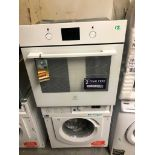 NEW/GRADED AND UNPACKAGED Electrolux KOFGH40TW Built In Single Electric Oven - White (Dent on top at
