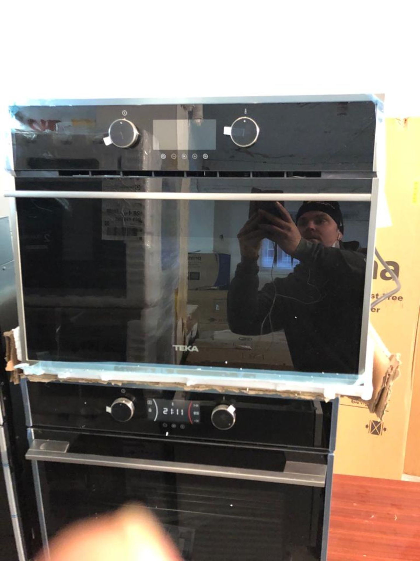 BRAND NEW UNPACKAGED Teka HLC 844C B/I Compact Electric Oven & Microwave