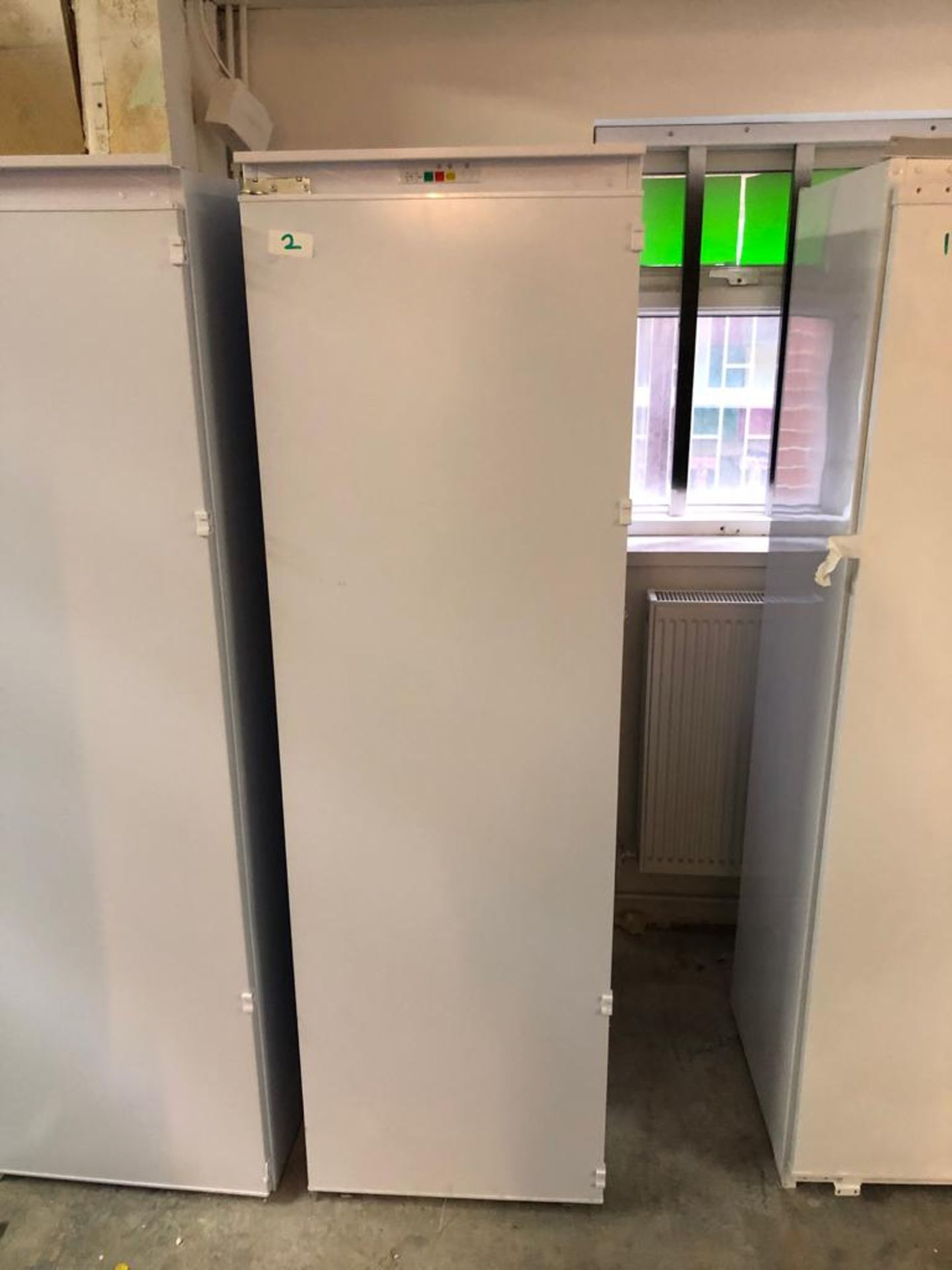 NEW/GRADED AND UNPACKAGED Prima Built-in Larder Freezer - PRRF209 (Slight damage to door/side)