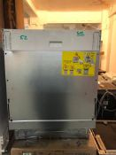 NEW/GRADED AND UNPACKAGED Zanussi, ZDLN1511, Fully Integrated Dishwasher (Dent in the lid)