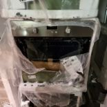 NEW/GRADED PACKAGED Zanussi ZOB343X Electric Built-in Single Oven(Smashed outer glass. Missing