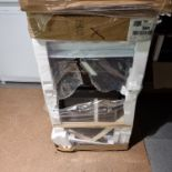 NEW/GRADED PACKAGED Beko KDG581W 50 cm Gas Cooker (Smashed outer glass top and bottom)