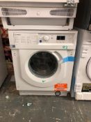 NEW/GRADED AND UNPACKAGED Indesit BI WMIL 71252 UK Integrated Washing Machine (Scuff to front of