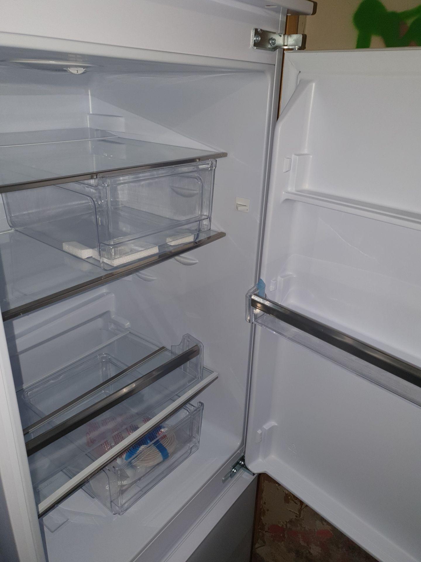 NEW/GRADED AND UNPACKAGED Prima PRRF702 Integrated Fridge Freezer (Brand new slight external - Image 13 of 14
