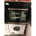 NEW/GRADED AND UNPACKAGED Prima+ PRSO108 B/I Single Electric Fan Oven (Door does not sit flush