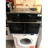NEW/GRADED AND UNPACKAGED Teka HLC 847C B/I Compact Electric Oven & Microwave (Slight dint on top on