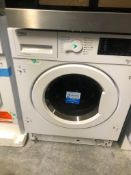 NEW/GRADED AND UNPACKAGED Beko wdiy854310f Integrated Washer Dryer 8kg 5kg (Light cosmetic damage to