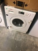NEW/GRADED AND UNPACKAGED Bosch Serie 4 WKD28352GB Integrated Washer Dryer, 7kg/4kg (Slight damage