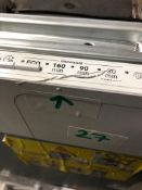 NEW/GRADED AND UNPACKAGED Zanussi, ZDLN1511, Fully Integrated Dishwasher (Scratches on the lid)