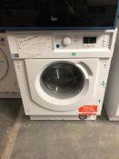 NEW/GRADED AND UNPACKAGED Indesit BIWMIL71252UK Built-In Slim Depth Washing Machine (No fixing
