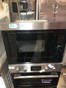 NEW/GRADED AND UNPACKAGED AEG MBE2658SEM 26L 900W Built-in Microwave Oven (Dent in front facia)