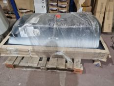 (B1) PALLET TO CONTAIN 5 x NEW KALDEWEI 1700x700MM BATH TUBS. RRP £348 EACH