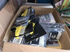 30 PIECE MIXED LOT INCLUDING WATER BLADE SQUEEGEES, POLISHING CLOTH, SHAMPOO STICKS ETC (273/30)