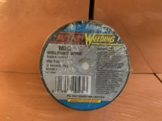 13 X BRAND NEW MAYPOLE MIG WELDING WIRE COPPER COATED (222/30)