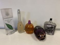 5 X VARIOUS BRANDED TESTER PERFUMES (290/30)