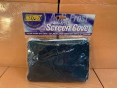 38 X BRAND NEW MAYPOLE ANTI FROST SCREEN COVERS (208/30)