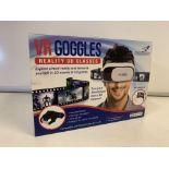 20 x NEW BOXED FALCON VR GOGGLES. REALITY 3D GLASSES (1220/30)