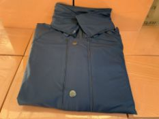 6 X BLACK ALL WEATHER WORK JACKETS SIZES MAY VARY (247/30)