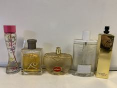 5 X VARIOUS BRANDED TESTER PERFUMES (292/30)