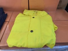 8 X HIGH VIZ ALL WEATHER WORK JACKETS IN VARIOUS SIZES (241/30)