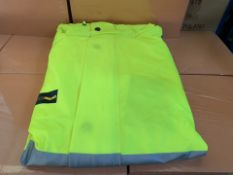 10 X HIGH VIZ BOILER SUITS SIZES MAY VARY (243/30)