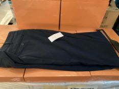 19 X MENS NAVY TROUSERS SIZE 40R AND 42 TALL (254/30)