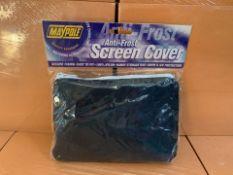56 X BRAND NEW MAYPOLE ANTI FROST SCREEN COVERS (209/30)