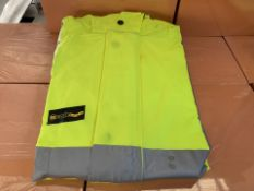 10 X HIGH VIZ BOILER SUITS SIZES MAY VARY (246/30)