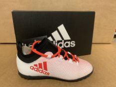 (NO VAT) 3 X BRAND NEW CHILDRENS ADIDAS X TANGO FOOTBALL TRAINERS SIZE i13 (9/30)