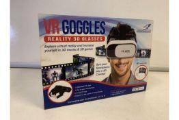 5 X NEW BOXED FALCON VR GOGGLES. REALITY 3D GLASSES (518/28)