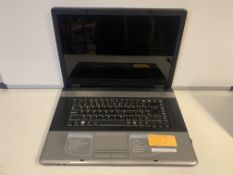 ADVENT 7201 LAPTOP, WINDOWS 7, 17 INCH SCREEN, 200GB HARD DRIVE WITH CHARGER