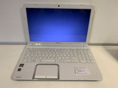 TOSHIBA L850D LAPTOP, WINDOWS 10, 250GB HARD DRIVE WITH CHARGER
