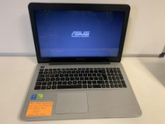 ASUS X555L GAMING LAPTOP, INTLE CORE i7 5TH GEN, 2.4GHZ, NVIDIA GEFORCE 820M, NO OPERATING SYSTEM