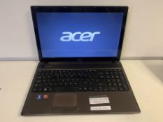 ACER ASPIRE 5253 LAPTOP, WINDOWS 10 WITH CHARGER