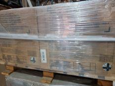 PALLET TO CONTAIN 53.96m2 OF BIARRTIZ GLAZED PORCELAIN WALL & FLOOR TILES. SIZE: 450x450MM EACH