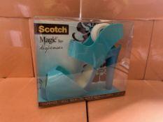 12 X SCOTCH MAGIC TAPE DISPENSERS (184/13)