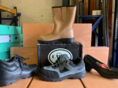 4 x PAIRS OF VARIOUS WORK BOOTS TO INCLUDE LAVORO, RIGGER BOOTS, CAPPS ETC (74/13)
